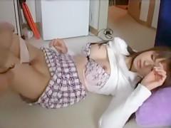 Fabulous Japanese girl Yuki Sakurai, Nao Nazuki, Miki Suzuhara in Crazy Masturbation/Onanii, Cunnilingus JAV movie