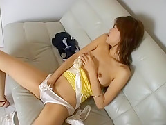 Crazy Japanese girl in Incredible Solo Girl, Small Tits JAV video