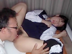 Fabulous Japanese girl in Hottest Facial, Oldie JAV clip