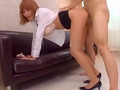 Fabulous Japanese girl Kirara Asuka in Exotic Stockings/Pansuto, Big Tits JAV scene