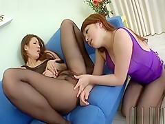 Hottest Japanese slut in Crazy Lesbian/Rezubian, Uncensored JAV clip