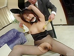 Exotic Japanese chick in Incredible JAV scene