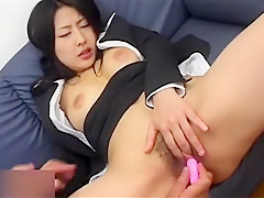 Exotic Japanese girl in Crazy Handjobs, Group Sex JAV video