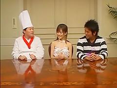 Amazing Japanese slut Hime Kamiya in Horny MILFs, Kitchen JAV movie