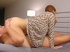 Incredible Japanese whore Haruki Sato in Best Cunnilingus, MILFs JAV clip