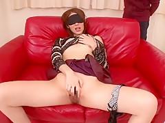 Exotic Japanese girl Riko Miyase in Hottest Masturbation/Onanii JAV video