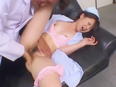 Fabulous Japanese model in Incredible Cunnilingus, Medical JAV clip