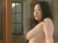 Horny Japanese slut Minako Komukai in Best Big Tits, Compilation JAV scene