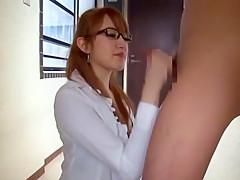 Amazing Japanese model Mai Shirosaki in Exotic Handjobs, Secretary JAV video