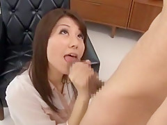 Incredible Japanese girl Chihiro Akino in Best Handjobs, Cumshots JAV scene