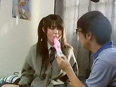 Horny Japanese chick in Hottest JAV movie