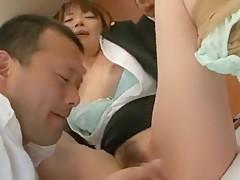 Exotic Japanese model Hikari Hino, Nao Mizuki in Best Doggy Style, Big Tits JAV video