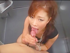Fabulous Japanese girl Nene Fujimori in Best Blowjob/Fera, POV JAV video
