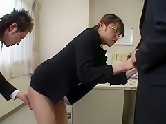 Fabulous Japanese slut Asuka Sawaguchi in Hottest Masturbation/Onanii, Office JAV scene