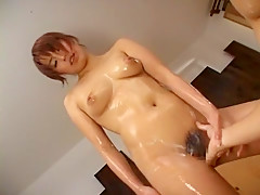 Fabulous Japanese model Manami Nishi, Kaya Yonekura in Best Rimming, Showers JAV scene