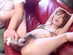 Crazy Japanese girl Maria Asagiri in Amazing JAV uncensored Cumshots movie