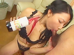 Amazing Japanese girl Chris Ozawa in Hottest JAV uncensored Blowjob clip