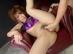 Horny Japanese girl Sakura Aragaki in Best JAV uncensored Fingering scene