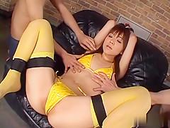 Horny Japanese whore Mao Saito in Best JAV uncensored Lingerie scene