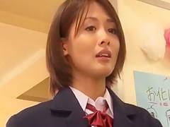 Crazy Japanese whore Nozomi Aiuchi, Mika Nakagawa, Yuki Natsume in Exotic JAV movie