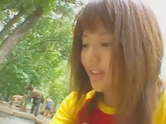Horny Japanese slut Sora Aoi in Exotic Showers, Outdoor JAV movie
