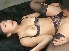 Amazing Japanese slut Nana Ogura in Incredible Lingerie, Fingering JAV movie