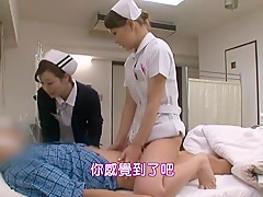 Exotic Japanese whore Azusa Akanishi, Sana Kanato, Yume Kimino in Best Nurse/Naasu JAV video