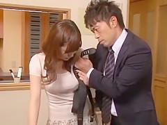 Crazy Japanese whore Akane Satozaki, Mina Kanamori in Fabulous Fetish, Deep Throat JAV movie