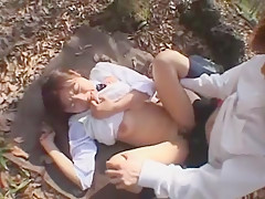 Crazy Japanese model Haruka Morimura in Horny Public, Outdoor JAV clip