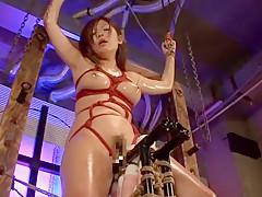 Exotic Japanese girl Haruki Sato in Horny BDSM, Big Tits JAV clip