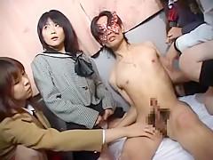 Crazy Japanese model Yuria Hidaka, Makoto Mizuhara, Nana Miyachi in Fabulous Girlfriend, Bus JAV scene