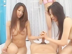 Hottest Japanese slut Julia, Momoka Nishina, Megumi Shino in Best Handjobs, Blowjob/Fera JAV scene
