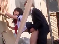 Amazing Japanese girl Chloe Fujisaki, Reina Akitsuki, Tsubomi in Crazy Teens, Outdoor JAV clip