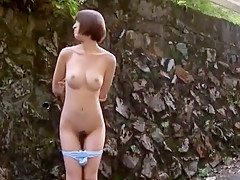 Best Japanese girl in Amazing Outdoor, Public JAV video