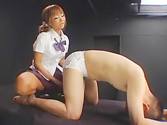 Crazy Japanese chick Riku Hinano in Best BDSM, Dildos/Toys JAV video