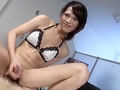 Fabulous Japanese slut in Horny Fetish, /Futanari JAV clip