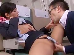 Best Japanese girl Nozomi Aso in Crazy JAV scene