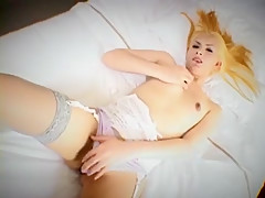 Exotic Japanese chick in Incredible Solo, /Futanari JAV video