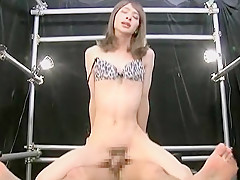 Exotic Japanese model in Fabulous Small Tits, Blowjob JAV movie