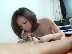 Hottest Japanese chick Ayaka Minami in Best Cunnilingus, Blowjob/Fera JAV video