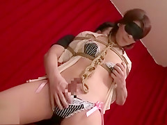 Best Japanese slut in Hottest BDSM, Stockings JAV movie