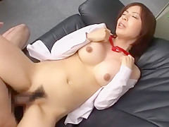 Horny Japanese girl Aya Sakurai in Amazing Office JAV video