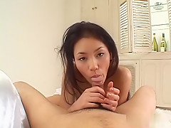 Horny Japanese chick Kaede in Best JAV uncensored Blowjob scene