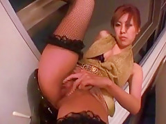 Amazing Japanese girl Satsuki Aoyama in Exotic Upskirts/Panchira JAV video