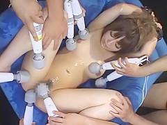 Best Japanese model Kana Kawai in Horny BDSM, Squirting/Shiofuki JAV movie
