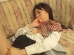 Exotic Japanese girl in Hottest JAV movie