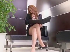 Exotic Japanese chick Misaki Tsukishima, Rui Saotome in Incredible Blowjob/Fera, Handjobs JAV scene