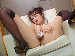 Fabulous Japanese chick Mai Satsuki in Exotic Close-up, Solo Girl JAV movie