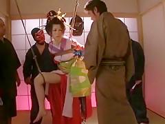 Hottest Japanese whore Miho Tachibana in Best Gangbang JAV scene