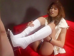 Incredible Japanese girl in Hottest Foot Fetish JAV clip